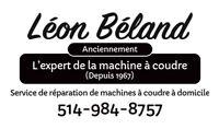 Service de réparation de machines à coudre 514 984-8757