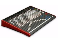 Allen and Heath Zed 24 mixing desk. Used in original box.