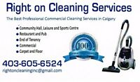 Subcontractors needed for cleaning