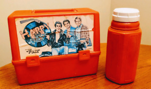 Vintage Happy Days Thermos Lunchbox
