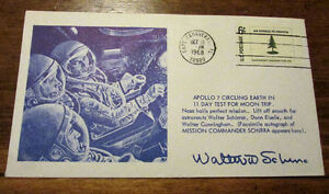 1968 APOLLO 7 Commemorative Space Cover