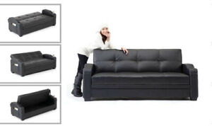 ZAYAN SOFA BED WITH STORAGE ! (GREAT  PRICE PAY ON DELIVERY)