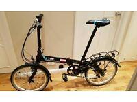 Dahon Vybe folding bike like Brompton