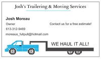 Josh's Trailering & Moving Services