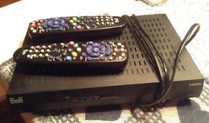 Bell 6400 Tv receiver/remotes