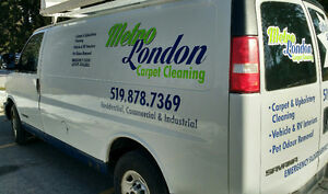 METRO LONDON CARPET CLEANING--Carpets,Rugs,Upholstery,Auto London Ontario image 4