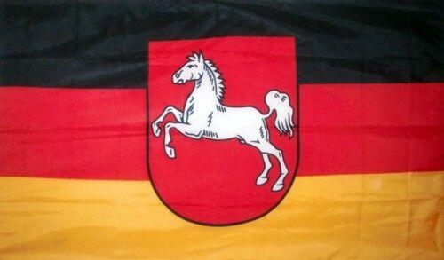 GERMANY LOWER SAXONY 5X3 FLAG GERMAN HANOVER WOLFSBURG