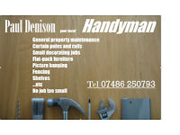 Handyman for hire in Poole
