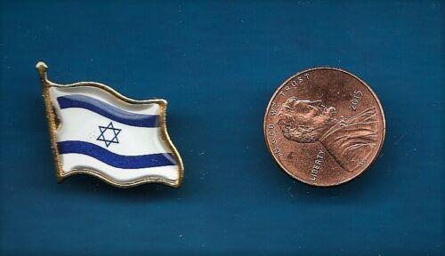 Israeli Flag lapel pin