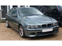 BMW 530i Sport Manual - unfinished project