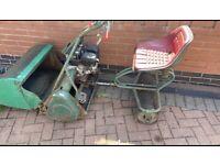 webb sit on lawn mower