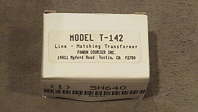 Fanon Courier Line - Matching Transformer Model T-142