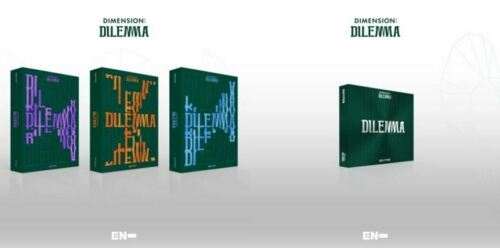 ENHYPEN DIMENSION:DILEMMA 1st Album CD+Poster+Photobook+Photocard+Pre-Order+Gift