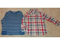 Boys Gap shirt and unbranded top size 3years (100 and 102cm)