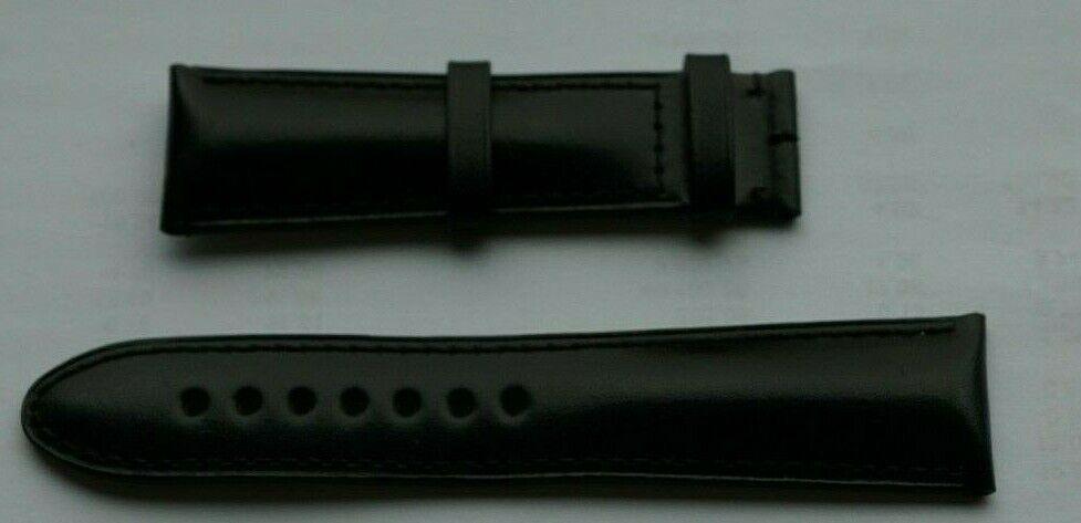 MONTBLANC Leder Armband für Armbanduhr 21MM Leder schwarz NP:395€