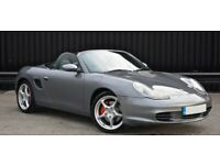 HUGE SPEC! PORSCHE BOXSTER 3.2 MANUAL + ALLOYS + FSH + FREE DELIVERY TO YOUR DOOR