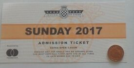 Goodwood Festival of Speed Sunday 2017 TICKET