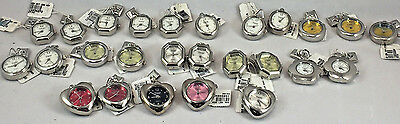 Wholesale Lot of 30 Assorted Pagoda Charms and Sterling Silver Watches