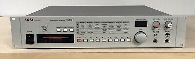 Vintage Akai S01 MIDI Digital Sampler In EXCELLENT Condition. Tested And Working
