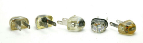 Five Compact Optical Slaves With Two American Plug By Wein, Speedotron, Sunpak.