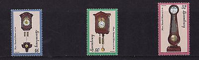 Luxembourg - 1997 Clocks - U/M - SG 1452-54
