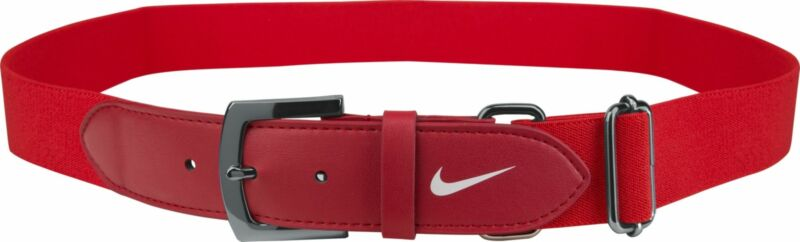 Nike Adult Baseball Belt 2.0 Navy Royal Blue and Red Adult One Size