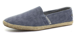New Dunlop DMC276 Canvas Mens Slip On Espadrilles ALL SIZES AND COLOURS