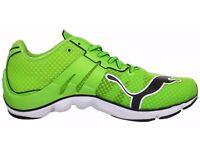 Puma Men's Mobium Elite Green Running Shoes