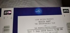 Kevin Hart Tickets @ the 02 London (01/09/18) £90 EACH! Cheapest and best seated! RRP £112.35
