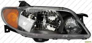 Head Lamp Passenger Side Metal Coat Bezel Mazda Protege 2001-2003