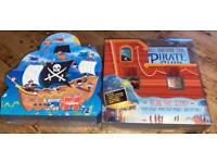 Pirate Ship game and jigsaw puzzle
