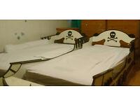 For Sale 2 Crazy Shark Pirate Boat Bed Frames