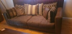 DFS 3 Piece Sofa and 2 Seater.