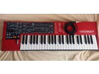 """NORD LEAD 4 with 1/4"""" Cable AND Power Cable AND USB Cable"""