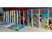 Beano Annuals x 16 - various from 1987 to 2006 - good condition