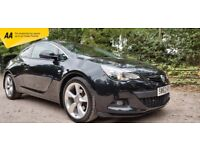Vauxhall Astra GTC 1.4T Black SRI Immaculate Condition 12 MONTH WARRANTY/HIGH SPEC/FINANCE AVAILABLE