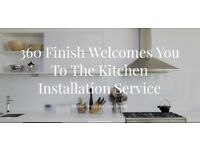 360 finish The Kitchen Installation Service: Transform your space, Transform your life.
