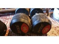50kg pair Jordan fixed dumbbells