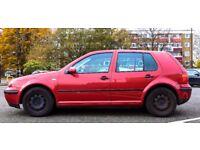 Cheap VW Golf, 5 door, Diesel, 1.9 Ltr, Manual