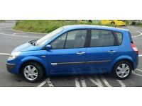Renault Scenic 1.5 DCi Oasis, Diesel, 2006, Long Mot, Panoramic Sunroof, AC, Very Economical