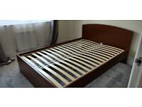 Ramberg IKEA Double Bed Frame with Instruction in Good Condition