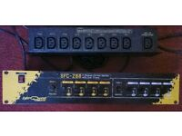 LYTE QUEST PRO SFC288---8 CHANNEL STAGE LIGHTING CONTROL SYSTEM WITH DUAL TIMERS