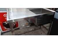 Catering equipment commercial stainless steel sinks prep tables restaurant kitchen items