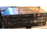 Pirates of Caribbean 4 dvds