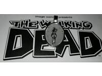 The walking dead comic pendent