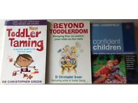 Confident children and toddlers advice books