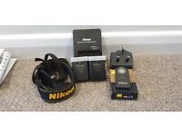 Nikon D3200 + 18-55mm lens