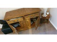 Fabulous side cabinet sideboard oak
