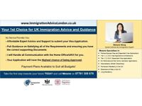 IMMIGRATION SOLICITOR - 15 Years Experience! - Visa Advice, Spouse Visa, Tier 1, 2, 4 & 5, EEA, ILR