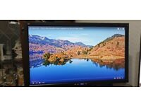 View Sonic 23 inch monitor full hd wide screen boxed with cables.